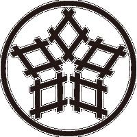 糸輪に五つ井桁