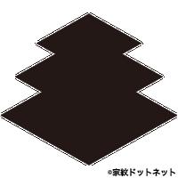 三階菱の家紋情報|家紋検索No.1...